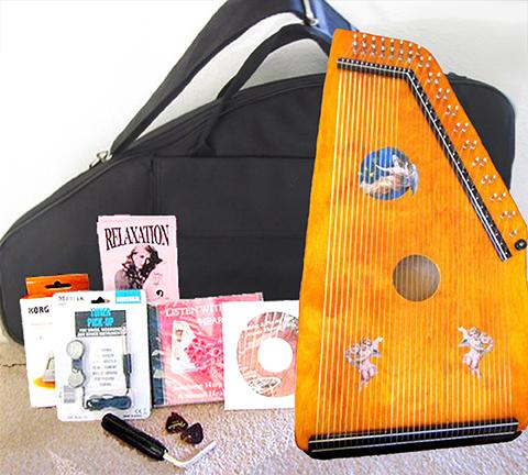 Blonde Maple Harp Complete Set