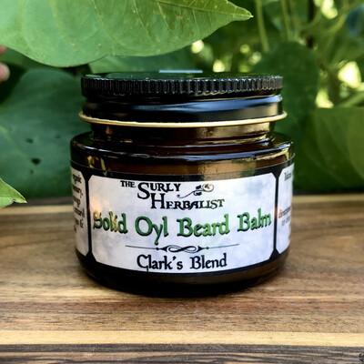 Solid Oyl Beard Balm - Clark's Blend
