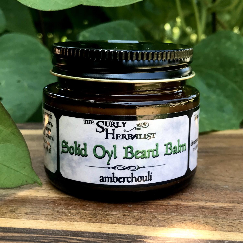 Solid Oyl Beard Balm - Amberchouli