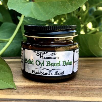 Solid Oyl Beard Balm - Blackbeard's Blend