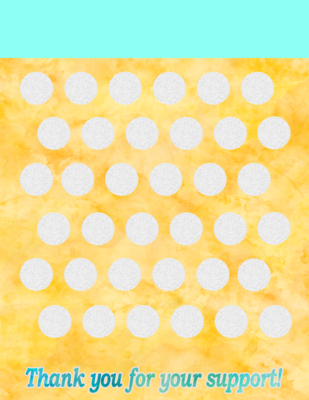 Blank Scratch off template -print your own scratch off ticket fundraisers