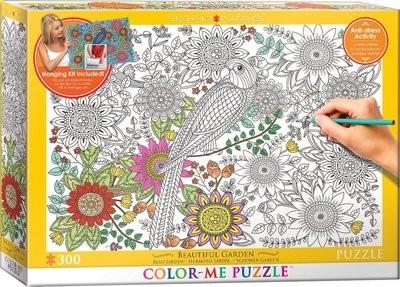 Color-Me Puzzle: Beautiful Garden