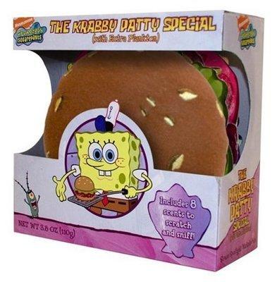 The Krabby Patty Special (with extra plankton)