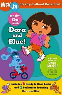 Ready-To-Read Boxed Set: Dora and Blue