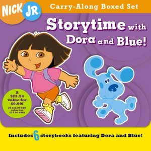 Carry-Along Boxed Set: Storytime With Dora and Blue!